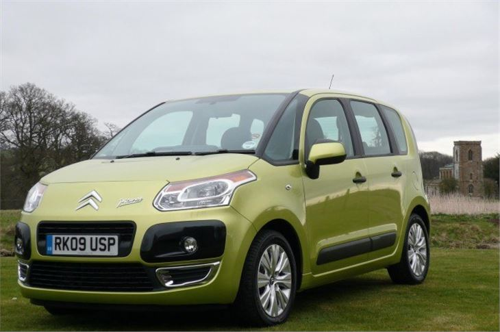 citroen c3 picasso 2009 road test road tests honest john. Black Bedroom Furniture Sets. Home Design Ideas