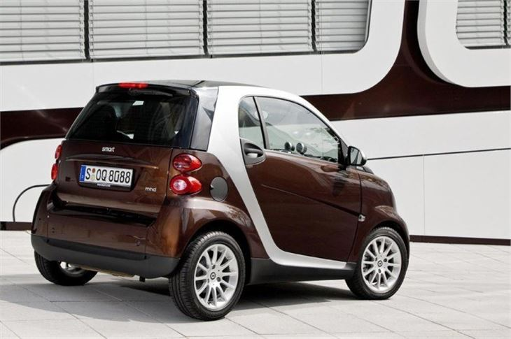 smart fortwo diesel 2009 road test road tests honest john. Black Bedroom Furniture Sets. Home Design Ideas