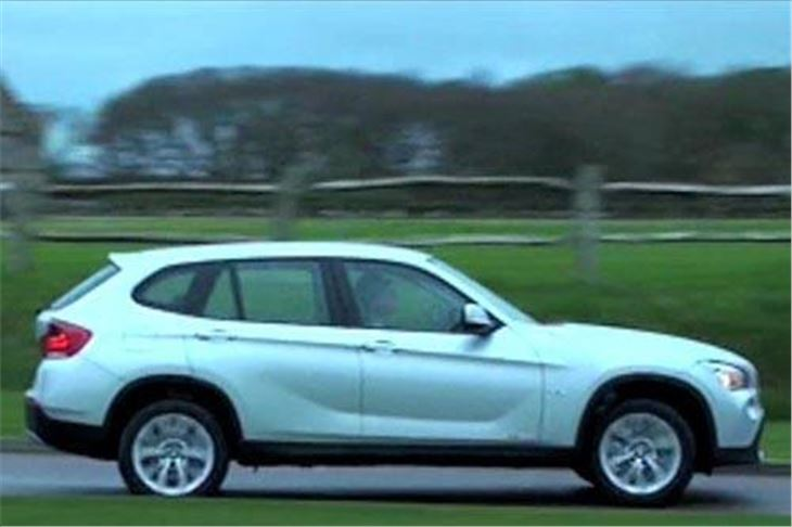 bmw x1 2009 road test road tests honest john. Black Bedroom Furniture Sets. Home Design Ideas