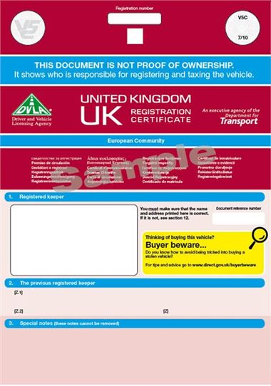 What Do With Dvla Tax When Car Taken By Finance