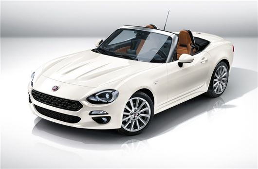 fiat reveals new 124 spider sports car motoring news honest john. Black Bedroom Furniture Sets. Home Design Ideas