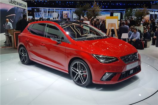 Geneva Motor Show 2017 All New Seat Ibiza Revealed