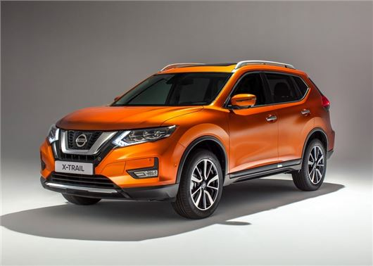 Facelifted Nissan X-Trail SUV revealed with subtle new look