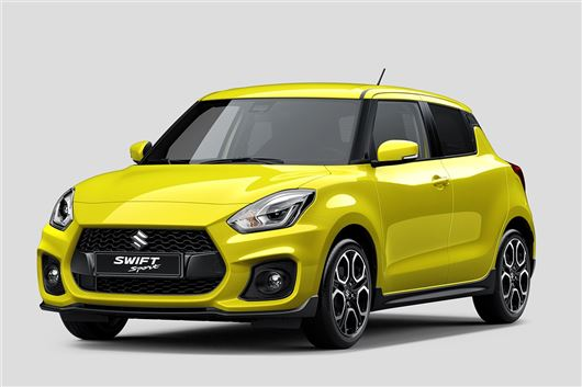 Suzuki shows off new Swift Sport