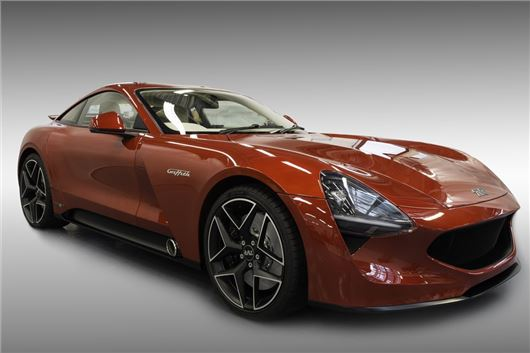 TVR returns to the market with the reborn Griffith