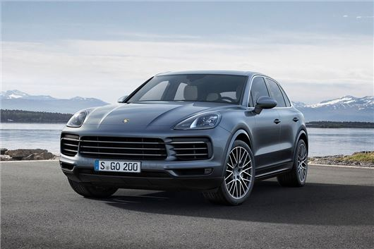 The 2019 Porsche Cayenne Turbo is your 550-hp grocery-getter