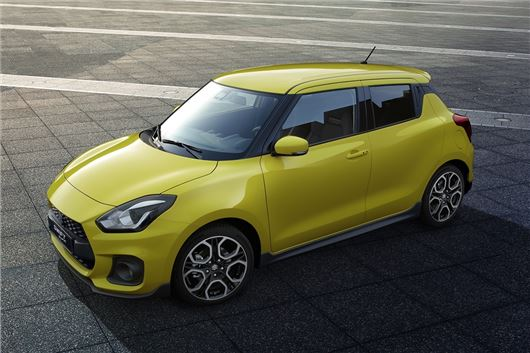 Suzuki Swift Sport debuts at Frankfurt show with 1.4T