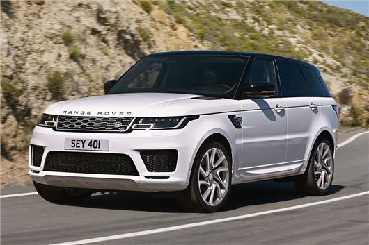Revised Range Rover Sport includes plug-in hybrid model