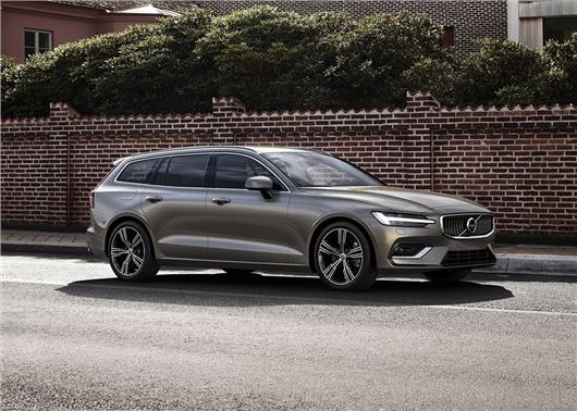 Pictures of the new Volvo V60 was leaked in the Internet