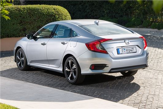Honda Civic four door saloon coming to United Kingdom market