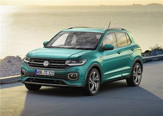 Volkswagen T-Cross SUV Unveiled - To Rival Hyundai Creta In India