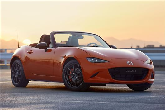 News The Mazda MX-5 30th Anniversary Is Very Orange, Very Awesome