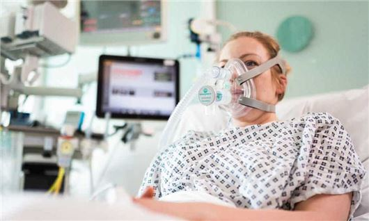 Coronavirus: UK hospitals trial new version of a breathing aid