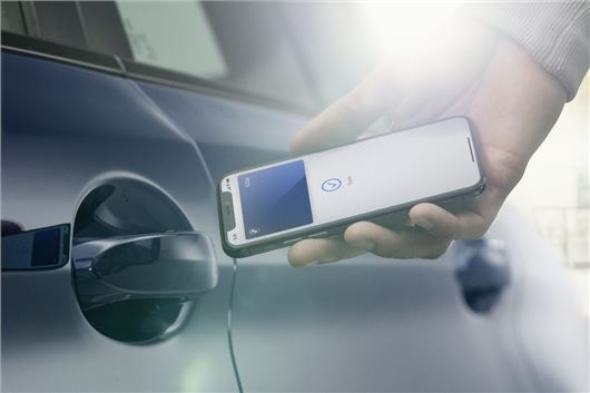 IPhone can be used as digital auto key — BMW