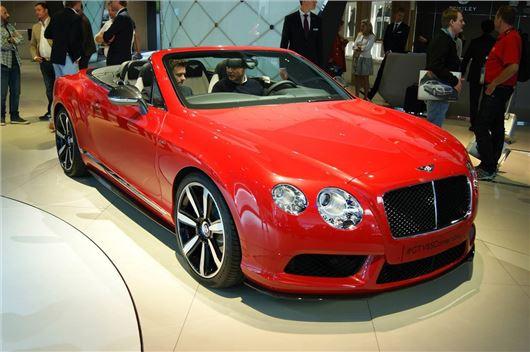 Frankfurt Motor Show 2013 Bentley Launches New V8 S