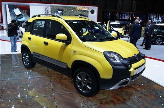 Geneva Motor Show 2014 Fiat Panda Cross Boasts Torque On