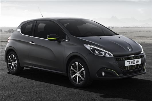 New Textured Matt Finished For Revised Peugeot 208