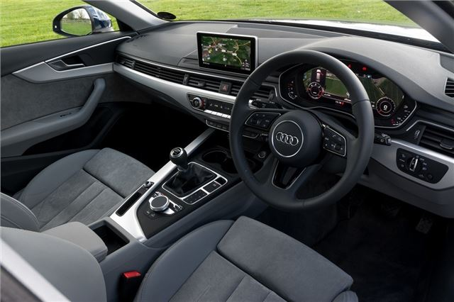 audi a4 b9 avant 2015 car review honest john. Black Bedroom Furniture Sets. Home Design Ideas