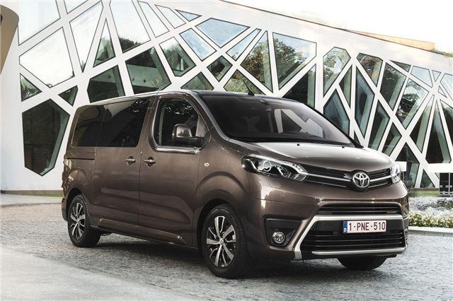 Toyota       ProAce       Verso    2016  Car Review   Honest John