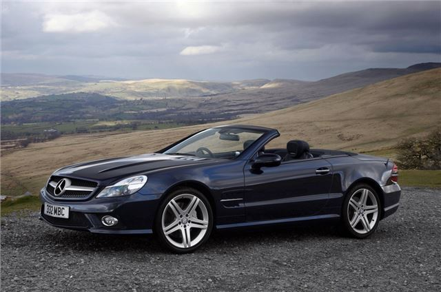Mercedes Benz Sl Class R230 2008 Car Review Honest John