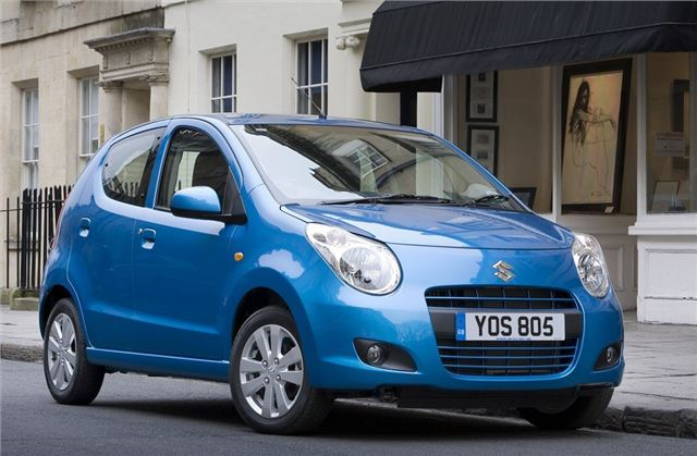 The Motoring World: Suzuki's Alto has been rated the UK's