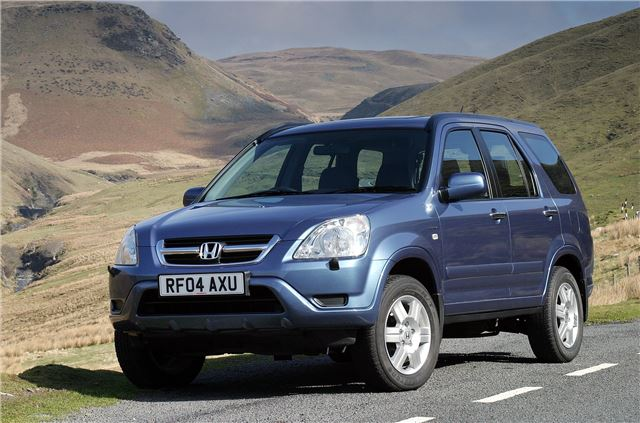 Honda cr v 2002 car review honest john for Honda crv competitors