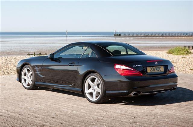 Mercedes benz sl r231 2012 car review honest john for Mercedes benz sl400 price