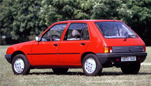 the 205 took a little time to gain momentum. Perhaps that's why it failed to win the 1984 European Car of the Year award, coming a close second to the