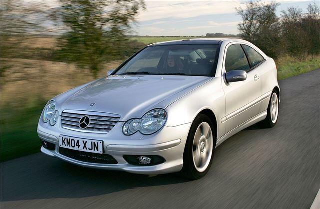 Mercedes benz c class sport coupe 2001 car review for Mercedes benz c class reliability