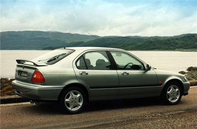 Honda Civic 1995 Car Review Honest John