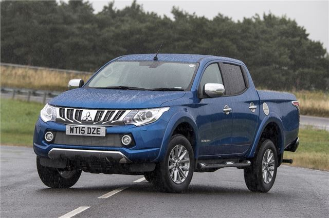 Mitsubishi L200 2015 Van Review Honest John