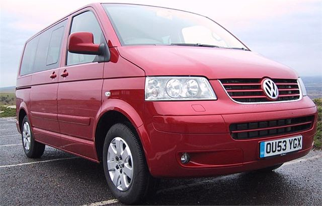 volkswagen t5 caravelle 2003 road test road tests honest john. Black Bedroom Furniture Sets. Home Design Ideas