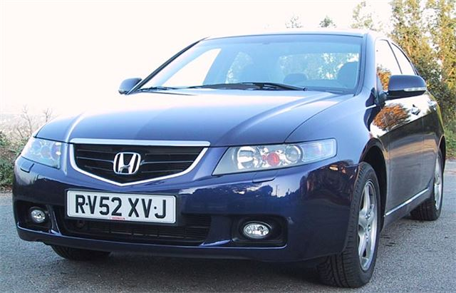 Honda accord and tourer 2003 road test road tests for Honda accord transmission cost